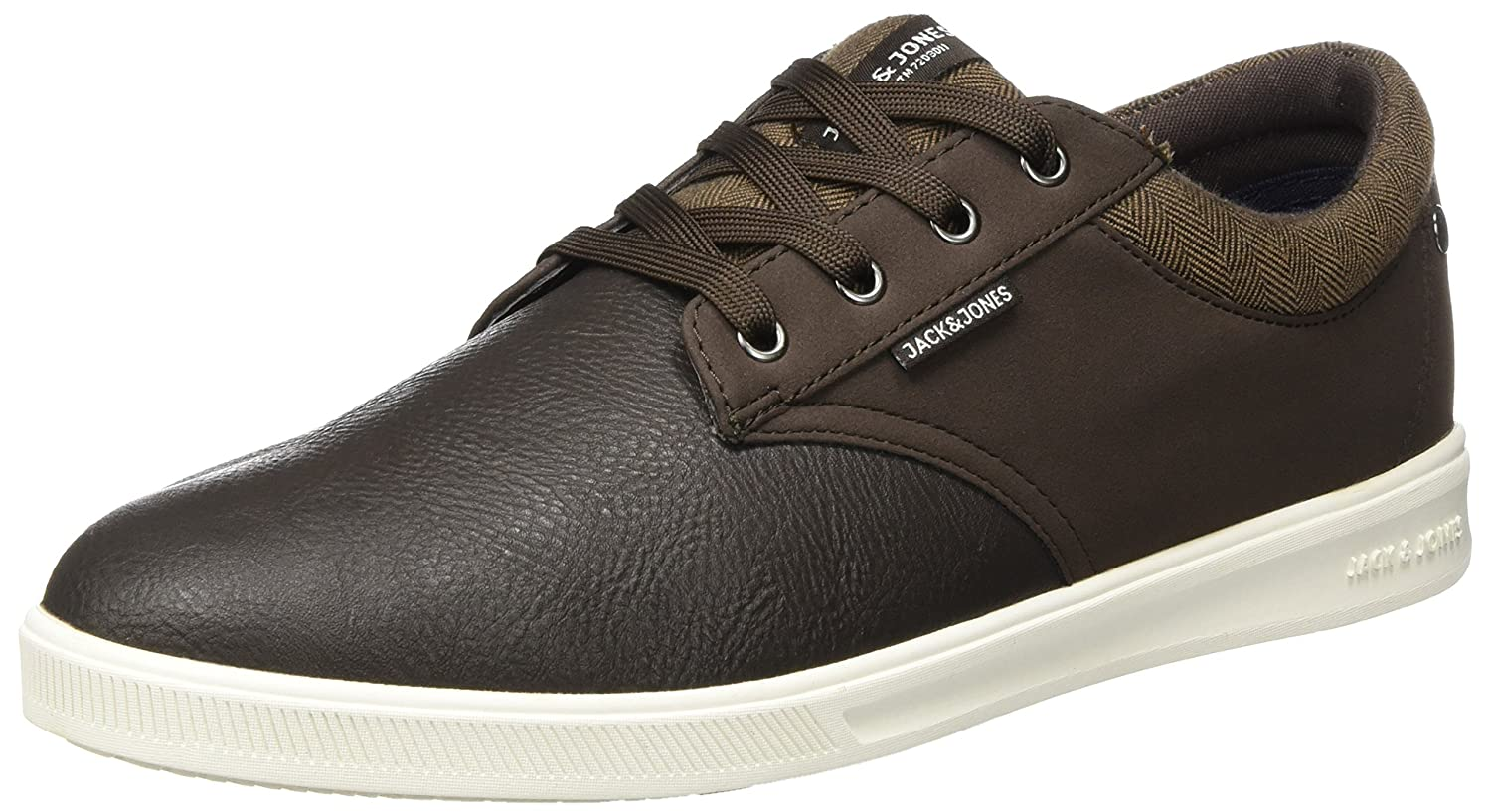 TALLA 40 EU. Jack & Jones Jfwgaston PU Mix Java, Zapatillas para Hombre