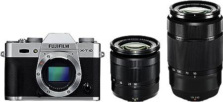 Fujifilm X-T10 2 Lens Bundle Silver product image 5