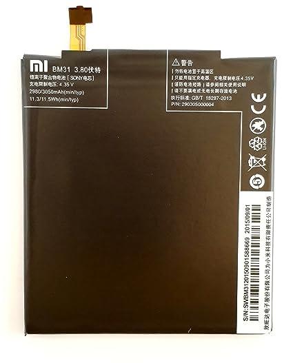 Xiaomi Bm31 Battery For Xiaomi Mi 3 Amazon In Electronics