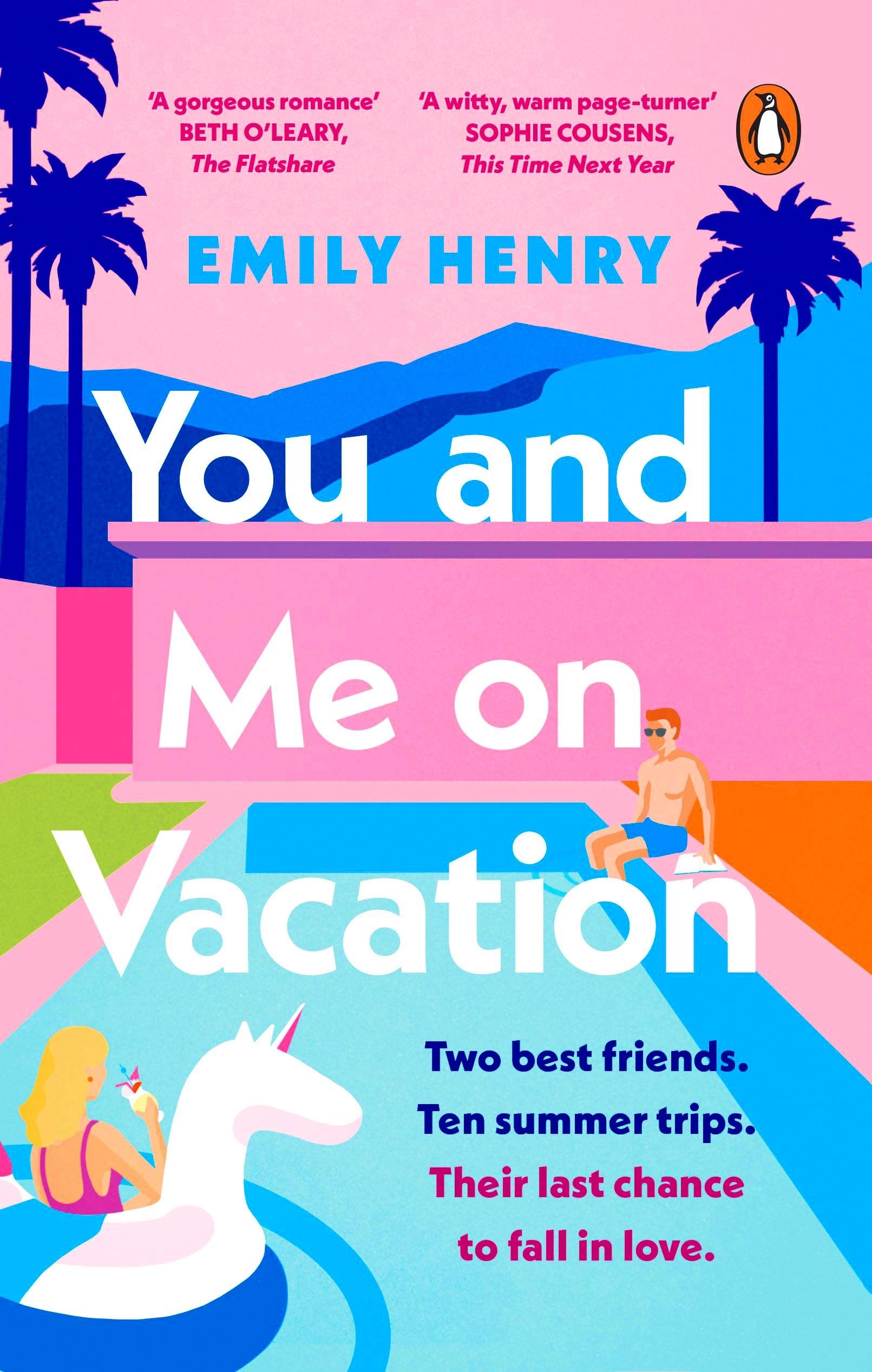 You and Me on Vacation: Amazon.co.uk: Henry, Emily: 9780241992234: Books