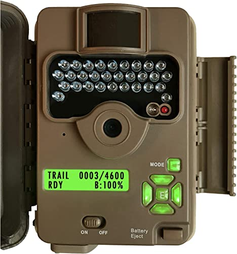 Browning Trail Cameras Command Ops Game Cam, 16MP, 720P HD Video, Camo, 65 Ft Range