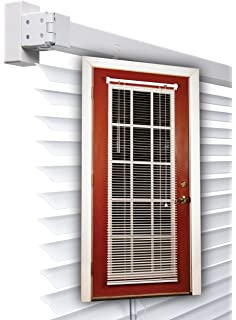half door blinds. Beautiful Door Magne Blind Aluminum Magnetic Mini 25Wx68 12Ldrop In White In Half Door Blinds I