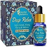 Oriental Botanics Deep Relax Aroma Therapy Diffuser Oil (Cedarwood, Ylang Ylang & Vetiver) - 15ml