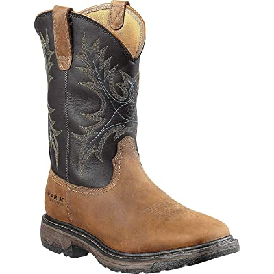 Ariat Men's Workhog Wide Square Toe H2O Steel Toe Work Boot: Shoes
