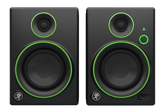 """104 opinioni per Mackie CR4BT Monitor Multimediali Bluetooth con Woofer da 4"""", Nero (Coppia)"""