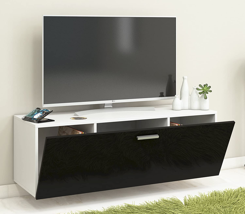 Vcm Tv Wand Board Schrank Tisch Fernseh Lowboard Wohnwand Regal