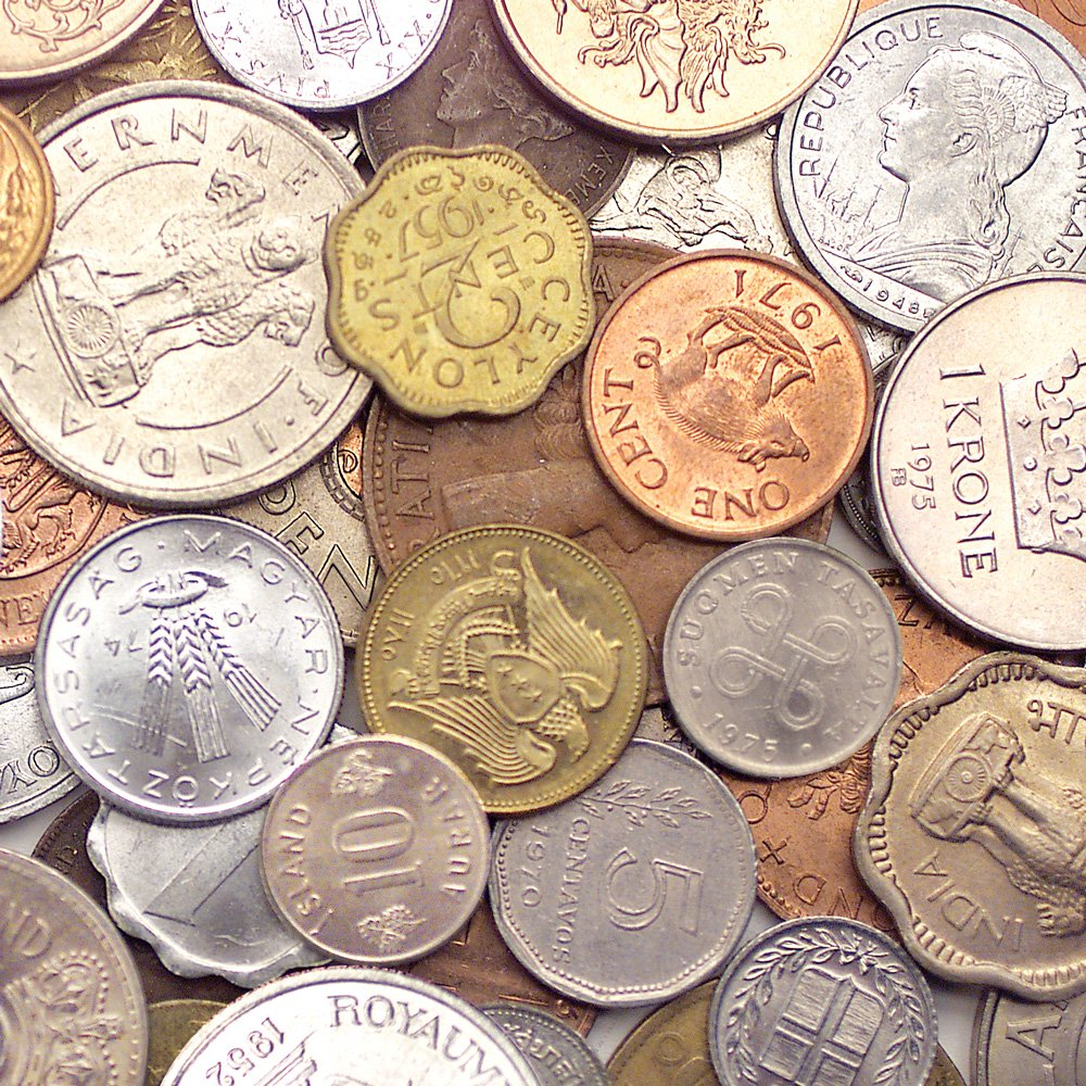 1 Pound Various Mint Marks World Foreign Coins Lot Grab Bag