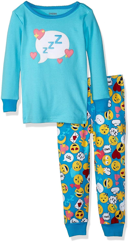 Gymboree Girls 2-Piece Tight Fit Long Sleeve Pajama Set