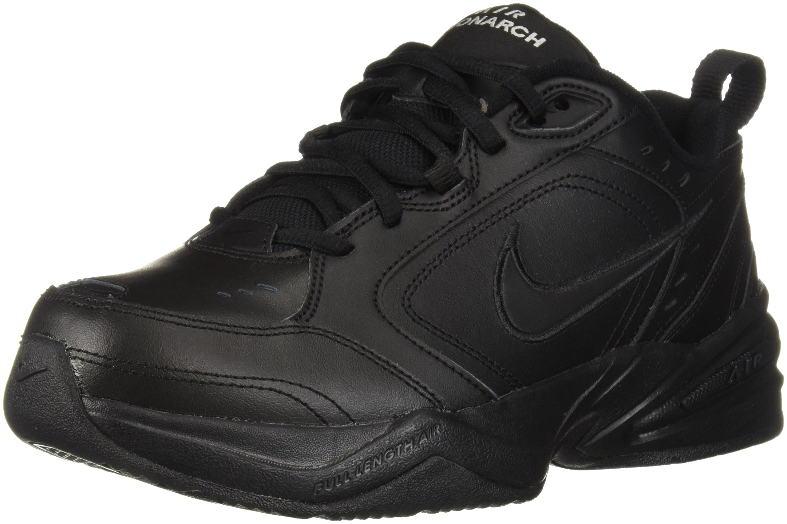 Nike Men's Air Monarch IV Cross Trainer, Black, 7.5 4E US by Nike (Image #1)