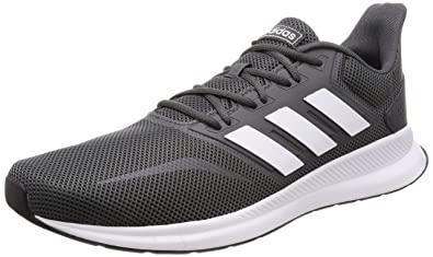 sports shoes 7952c 9500b adidas Men s Runfalcon Running Shoes, Grau (Grey Footwear White Core Black 0