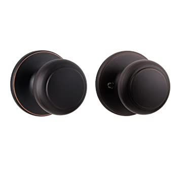 Awesome Kwikset Cove Hall/Closet Knob In Venetian Bronze