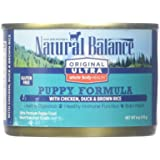 Natural Balance Original Ultra Whole Body Health Puppy Formula Canned Dog Food