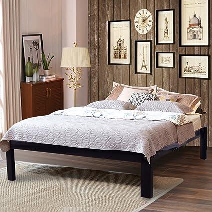 Amazoncom Homerecommend Metal Bed Frame Platform Mattress