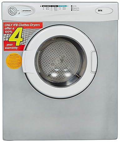 IFB 5.5 kg Dryer (Turbo Dry EX, Silver)