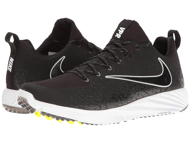 (ナイキ) NIKE メンズフットボールアメフトシューズ靴 Vapor Speed Turf Black/Black/White 9.5 (27.5cm) D - Medium B078Q19516