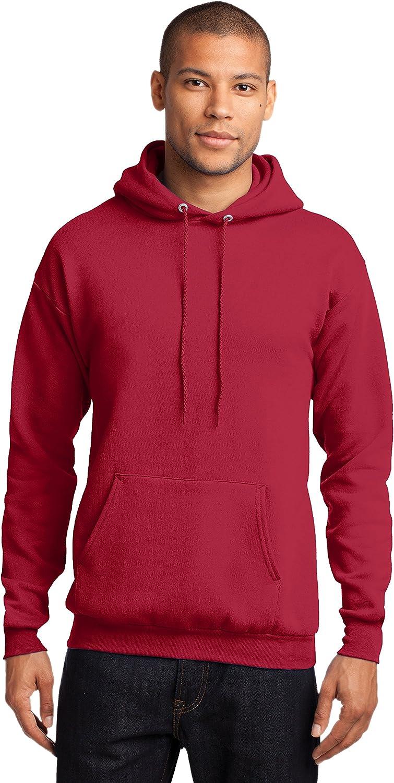 Sportoli Mens Adult Core Fleece Hooded Pullover Hoodie Sweatshirt Sweat Shirt