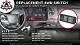 Replacement 4WD Selector Switch - Fits Chevy