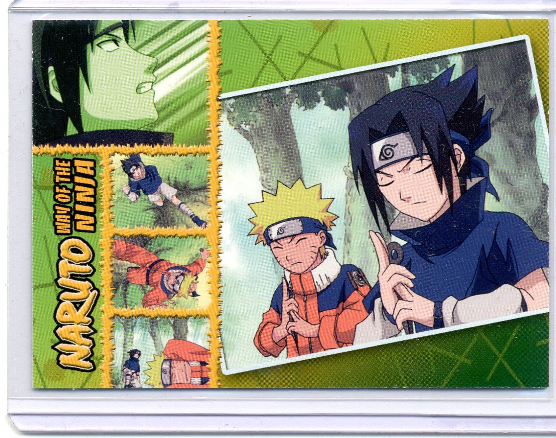 Inkworks Naruto: Way of the Ninja Premium Trading Card Piece ...