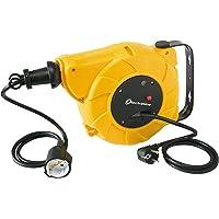 Electraline 100237 Enrollacables eléctrico automático a Resorte