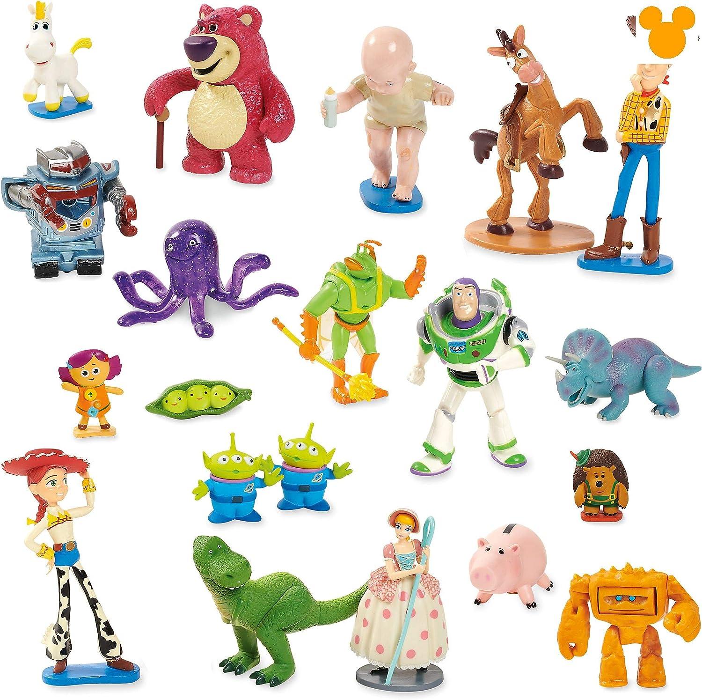 Disney Store Oficial Toy Story Mega Pack de 22 Figuras Figura Figura Playset: Amazon.es: Juguetes y juegos
