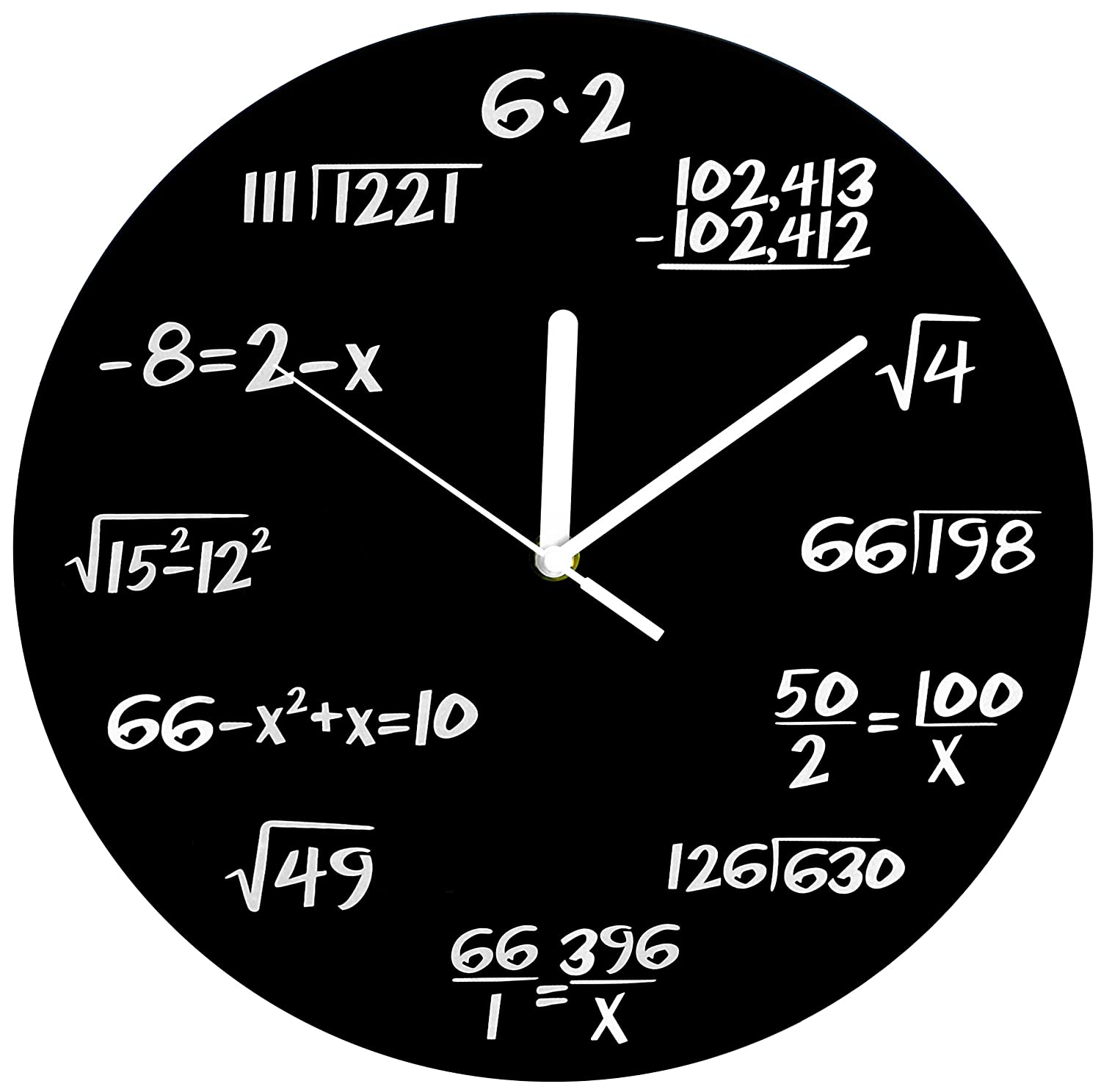 Amazon.com: Decodyne Math Clock - Discontinued by Manufacturer: Home ...