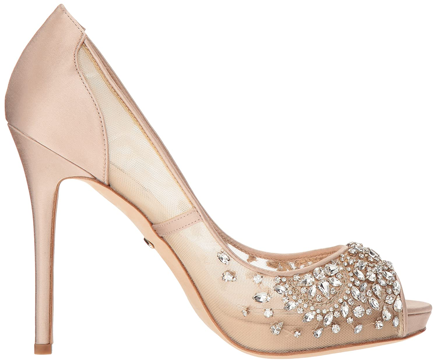 Badgley Mischka Womens Pepper Pump