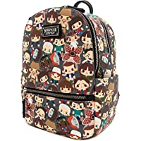 Loungefly Stranger Things Baby Characters Chibi All Over Print Mini Backpack