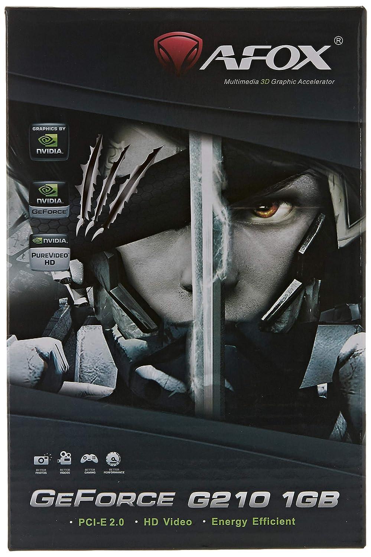 AFOX Geforce GT210 1GB DDR2 64Bit DVI HDMI VGA: Amazon.es ...