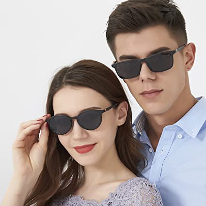 Amazon.com: ZENOTTIC Prescription Ready Sunglasses Magnetic ...