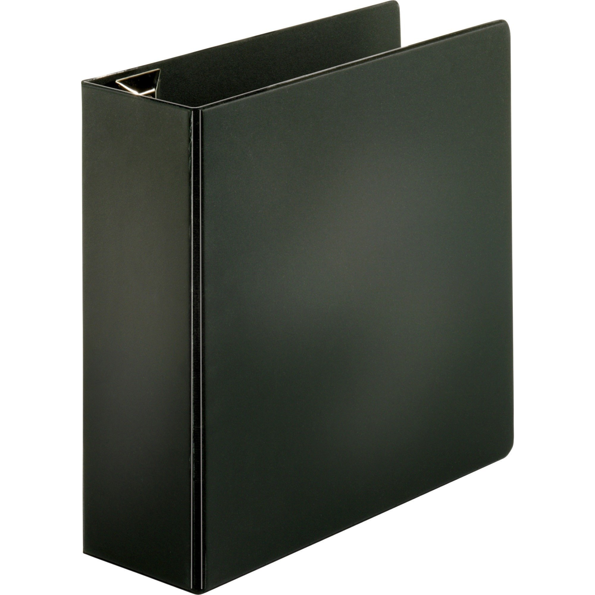 Sparco Slant-D Ring Binder, with Sheet Lifter, 4 Inches Cap, 11 x 8-1/2 Inches, BK (SPR26971)