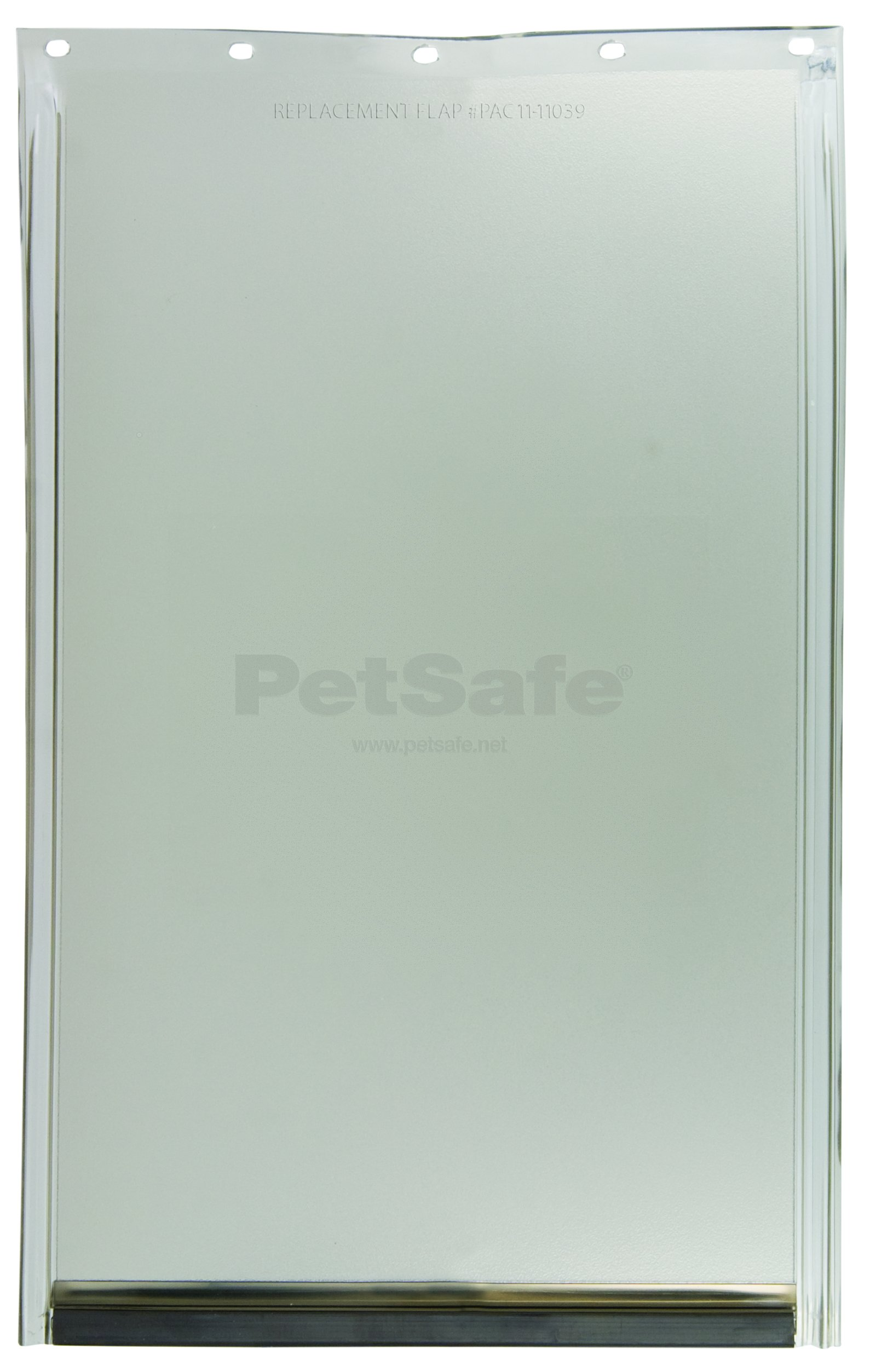PetSafe Dog and Cat Door Replacement Flap, Large, 10 1/8'' x 16 7/8'', PAC11-11039, Tinted Vinyl, Magnetic