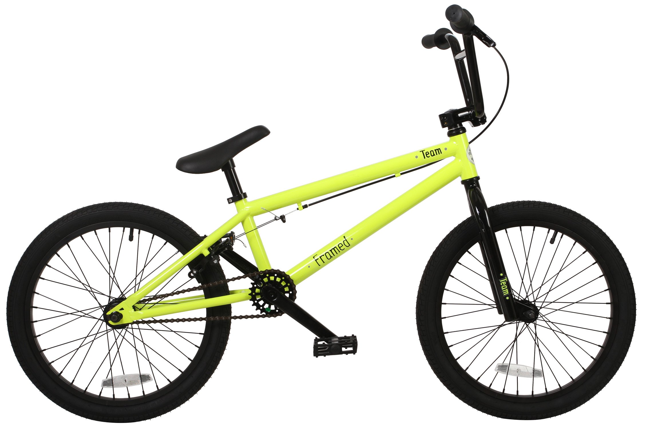 Framed Team BMX Bike Sz 20in