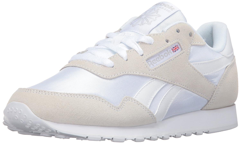 Reebok Women's Royal Nylon Fashion Sneaker B01ANHADIS 7.5 B(M) US|White/White/Steel