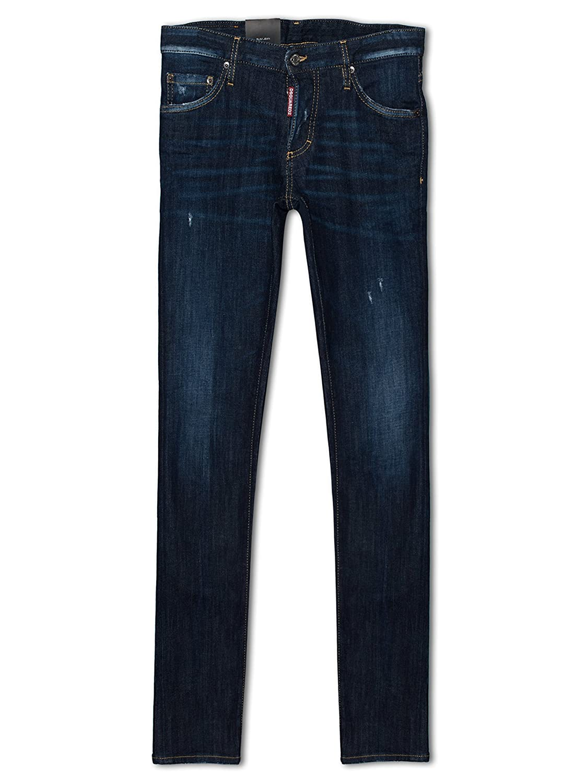 DSQUARED2 Slim Fit Indigo Blue Jeans XL (52): Amazon.es ...