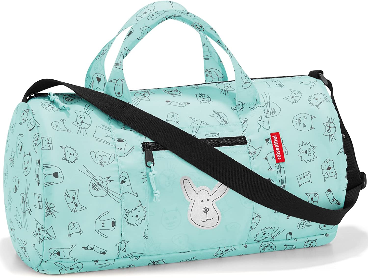 Cats and Dogs Rose Reisenthel Sac de Sport Grand Format Rouge - IH4062