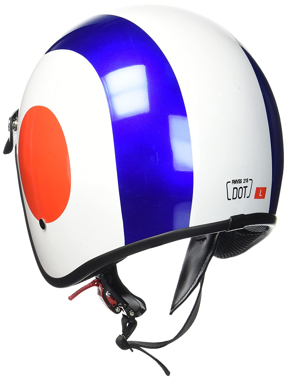 "ARMORHELMETS/® AV-47 /""Italy/"" /· Jet-Helm /· Motorrad-Helm Roller-Helm Scooter-Helm Bobber Mofa-Helm Chopper Retro Cruiser Vintage Pilot Biker Helmet Brille /· DOT Schnellverschluss Tasche M 57-58cm"