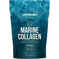 Premium Marine Collagen Peptides (Large Pack,15oz) from Wild Caught Fish Skin (Not...