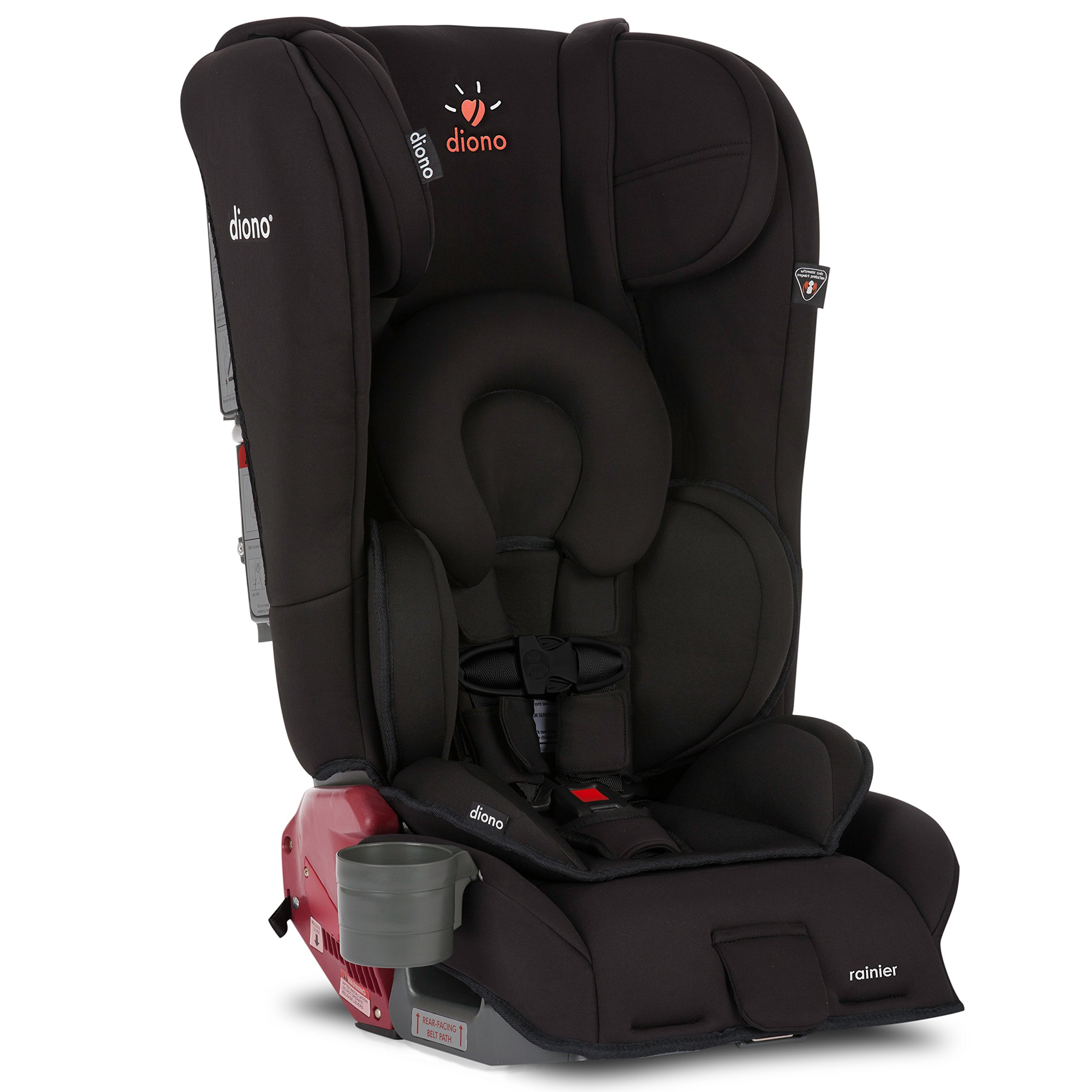Diono Rainier All-In-One Convertible Car Seat, Midnight
