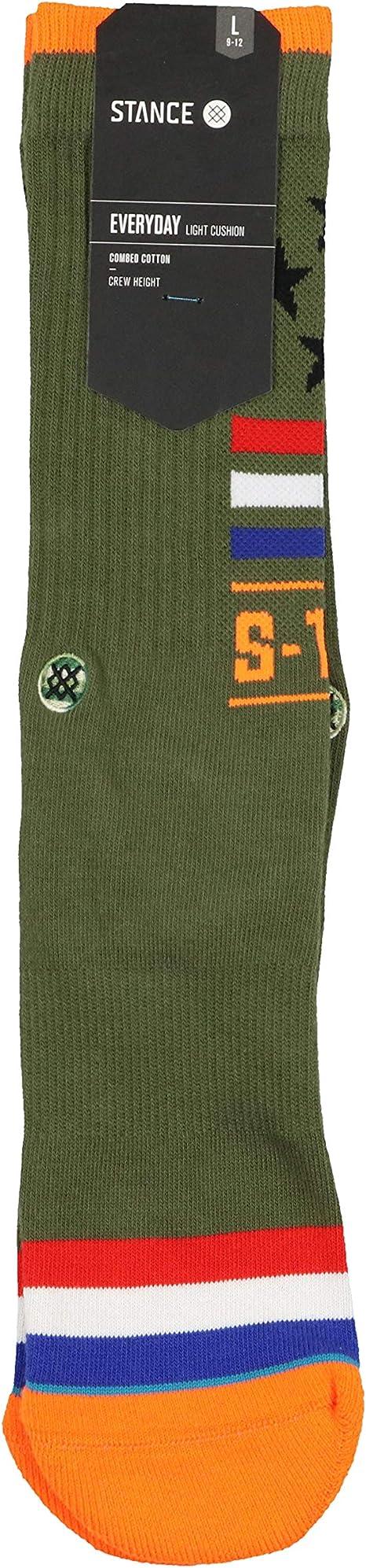 Stance NEW Men/'s Star Fade Socks Green BNWT