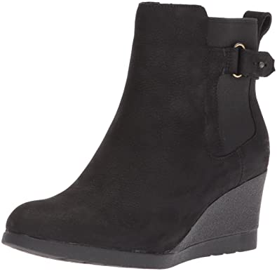 black ugg boots with wedge heel
