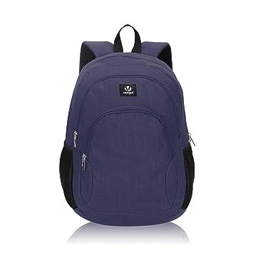 Veevan School Bags Mochila para niños Mochila para universitarios Mochila para portátil para niñas Azul: Amazon.es: Equipaje