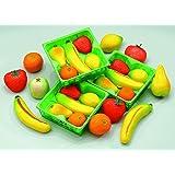 Bergen Mixed Fruit Marzipan Basket 4.5oz (4-pack)