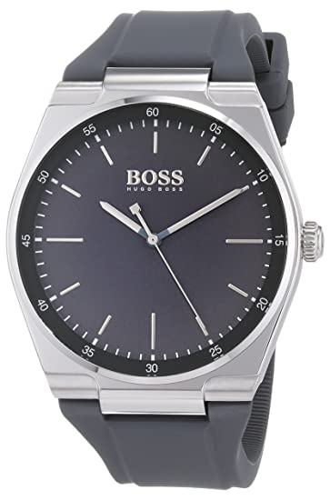 Hugo BOSS Reloj Analógico para Hombre de Cuarzo con Correa en Silicona 1513564