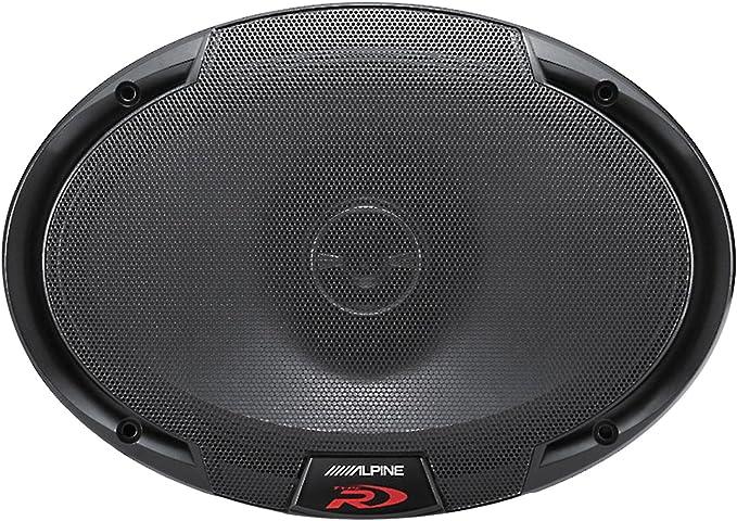 alpine spr 69 6x9 2 way coaxial speakers 300w peak 100w rms  alpine spr 50 wiring diagram speakers #4