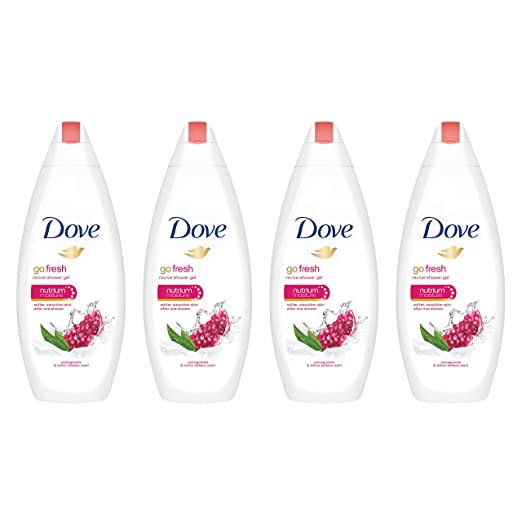 Dove go fresh Body Wash, Pomegranate and Lemon Verbena 22 oz, 4 ct