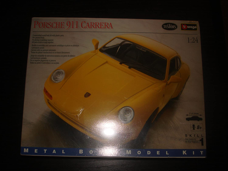 Durago Porsche 911 Carrera Metal Body Model Kit 1:24 by Durago, Toys ...