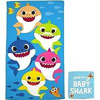 Franco Kids Bath and Beach Soft Cotton Terry Towel with Washcloth Set, 25″ x 50