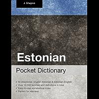 Estonian Pocket Dictionary