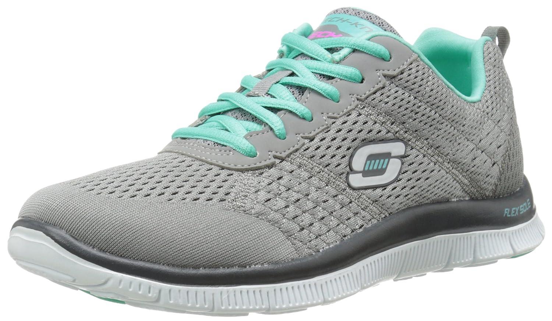 Skechers Flex Appeal Obvious Choice Damen Sneakers  37 EU Grau (Gytq)
