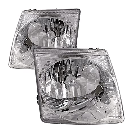 Headlights Depot Replacement For Ford Explorer Sport Explorer Sport Trac Headlights Headlamps Pair New Set
